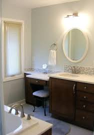 Bath Vanities With Dressing Table by Bathroom Vanities With Makeup Table Librepup Info