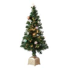 6ft Christmas Tree fiber optic spinning musical christmas tree miles kimball