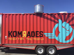 Komrades: A Food Truck For The People - Salt Lake Magazine