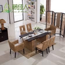 china hotsale rattan wicker esstisch und stuhl set buy