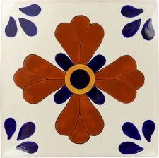 12盻 x 12盻 blue seville sevilla handmade ceramic floor tile