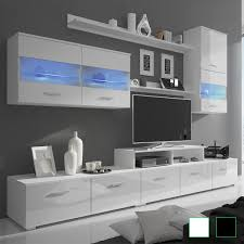 Panana Modern Designs Living Room Furniture TV Stand With LED Storage Cabinet Extra Large Unit 1303545cm Black
