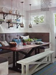 Lovable Dining Bench Seat Upholstered Room With Back Table A