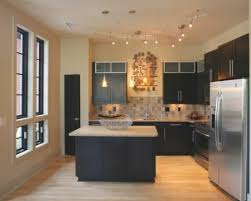 kitchen track lighting ideas racetotop within prime kitchen
