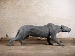 Animals Made From Wire Sculptures By Kendra Haste Inspiration