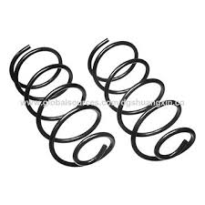 China Manufacturing Custom Stainless Steel 65Mn Retractable Coil Spring