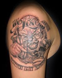 Best 25 Clown Girl Tattoo Ideas On Pinterest