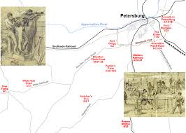 Ma Of The Petersburg Area And Its Many Battlefields