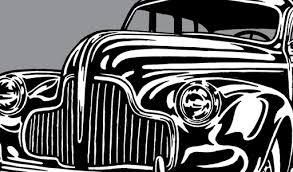 8 Classic Auto Clipart