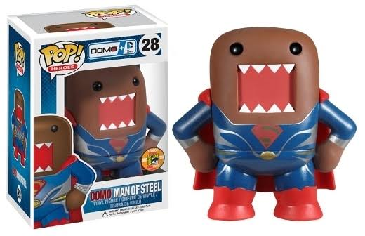 Funko Pop! SDCC 2013 Exclusive Vinyl Figure - Domo Man of Steel, 11cm