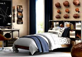 Decorating Ideas For Teenage Boys Bedrooms Feel The Home New Bedroom Guys
