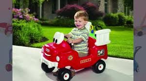 100 Fire Truck Cozy Coupe Little Tikes Spray And Rescue Kids Outdoor Toys YouTube