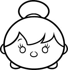 Coloriage Tsum Tsum A Imprimer Gratuit Bondless