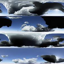 100 Flat Cloud S With No Detail In Shadows Very Flat And Dark Shadow Area In