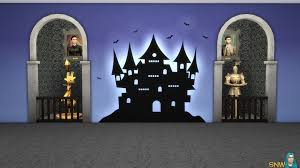 Sims Freeplay Halloween 2016 by Halloween 2016 Mural 1 Snw Simsnetwork Com