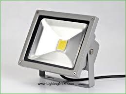 lighting led vs halogen outdoor flood lights lithonia lighting 2