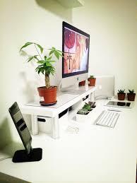 Black Corner Computer Desk With Hutch by Workspace Modern Minimalist Workspace Design With Imac Computer