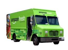 Amazon Squeezes FreshDirect | Crain's New York Business Amazons New Delivery Program Not Expected To Hurt Fedex Ups Cnet Amazon Delivery Fail Amzl Drives In Yard Then Amazonfresh Rolls Into San Diego The Uniontribune Grocery Business Quietly Expands Parts Of New Putting Fedex Out Business Start Shipping Company Adds Tool Its Own Truck Trailers Chicago Tribune Threat Tries Its Own Deliveries Wsj Tasure Truck Is Coming Whole Foods Parking Lots Eater Amazoncom Postal Service Kids Toy Toys Games Has Changed The Way You Shop For Food Consumer Reports Prime Members Now Have Access Car Service Will Kill
