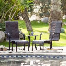 Coral Coast Florentino All Weather Wicker 5 Piece Patio Chat Set
