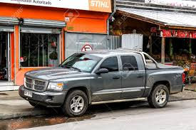 VILLARRICA, CHILE - NOVEMBER 20, 2015: Pickup Truck Dodge Dakota ...