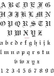 Best 25 Number tattoo fonts ideas on Pinterest