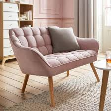 sofa in rosa kaufen mömax zweisitzer