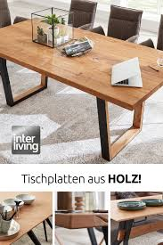 esszimmer tische in 2021 esszimmer möbel holztischplatte