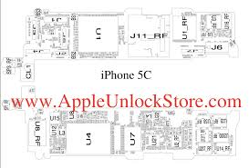 AppleUnlockStore Service Manuals iPhone 5C Circuit Diagram