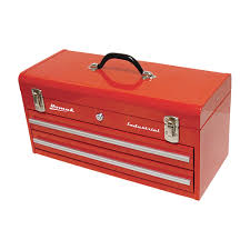 100 Plastic Truck Toolbox Homak 20in Industrial 2Drawer Steel Red Northern Tool