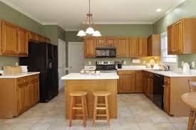 ideas kitchen paint colors with light oak cabinets