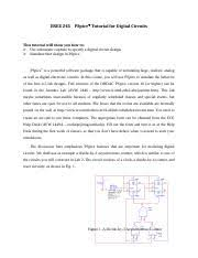 Umd Ece Help Desk by Pspice Tutorial Enee 245 Pspice Tutorial For Digital Circuits