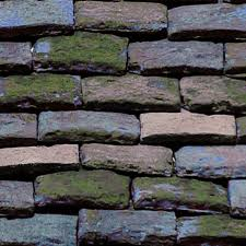flat clay roof tiles texture seamless 03588