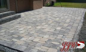 Brick and Pavers Patio Design Chesterfield MI