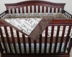 Dallas Cowboys Crib Bedding Set by Cowboy Crib Bedding Etsy