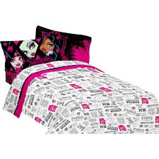 mattel monster high girl s full sheet set