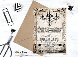 Halloween Warehouse Okc 50th by Murder Mystery Dinner Party Invitation Vintage Party