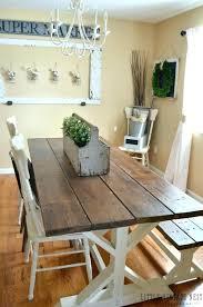 Farmhouse Style Dining Set Farm Room Table Modern Makeover Little Vintage Nest