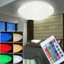 details zu rgb led deckenle schlafzimmer fernbedienung sternenhimmel dimmer beleuchtung