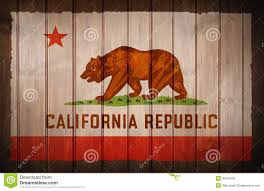 California State Flag Wallpaper