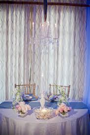 Whimsical Chic Seaside Wedding Reception Decor With Elegant Sweetheart Table