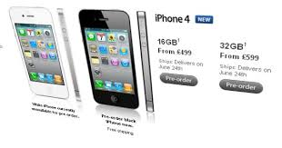 iPhone 4 SIM free price revealed by Apple pre order CNET