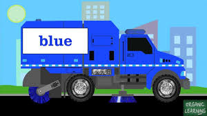 100 Garbage Truck Video Youtube Street Sweepers Teaching Colors Learning Basic Colors For