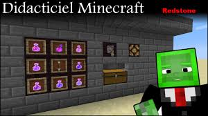 minecraft didacticiel redstone usine à potions 1 9 youtube
