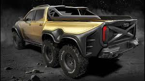 100 Mercedes 6 Wheel Truck CARLEX MERCEDESBENZ XCLASS TRUCK