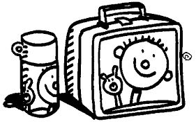 Lunch Box Clipart Black And White Lunchbox Clip Art