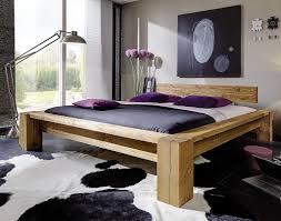 balkenbett 180x220 mit kopfteil 2 nordisches massivholz rustikal antik gewachst casade mobila