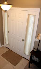 front door curtains how to diy handmade happiness pinterest