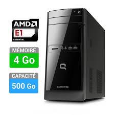 ordinateur de bureau compact compaq pc de bureau 100 406nf prix pas cher cdiscount