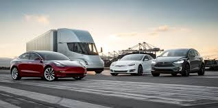 Tesla Releases Cool 'family Photo' With All Its Vehicles From Semi ...