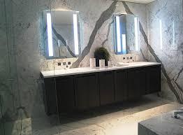 bathroom lighting marvelous lighted mirror design led inside wall